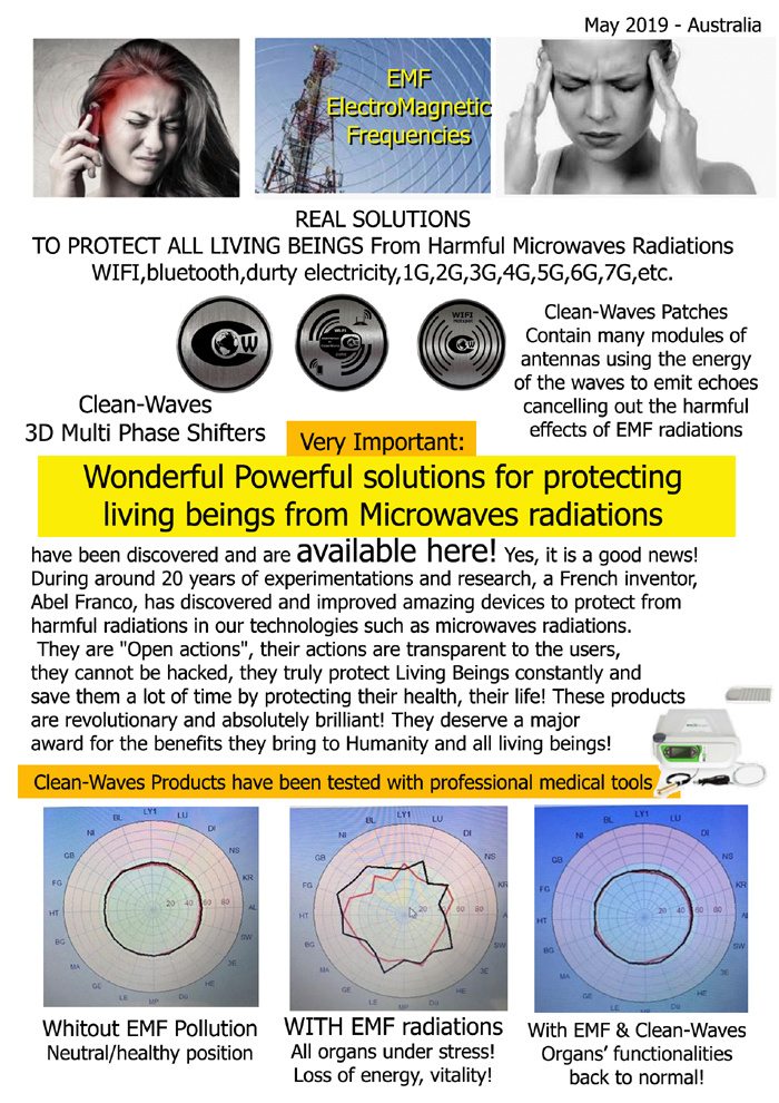 Clean-Waves Protection devices - Amazing new products - Please see more information in the shop.